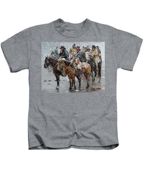 Hashknife Pony Express Kids T-Shirt