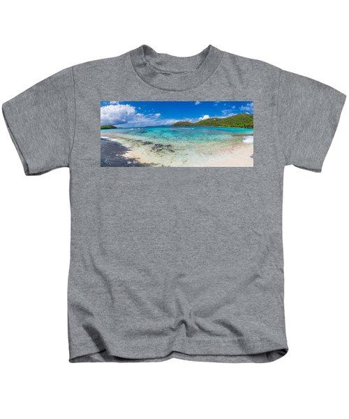 Hawksnest Beach, St. John, Us Virgin Kids T-Shirt