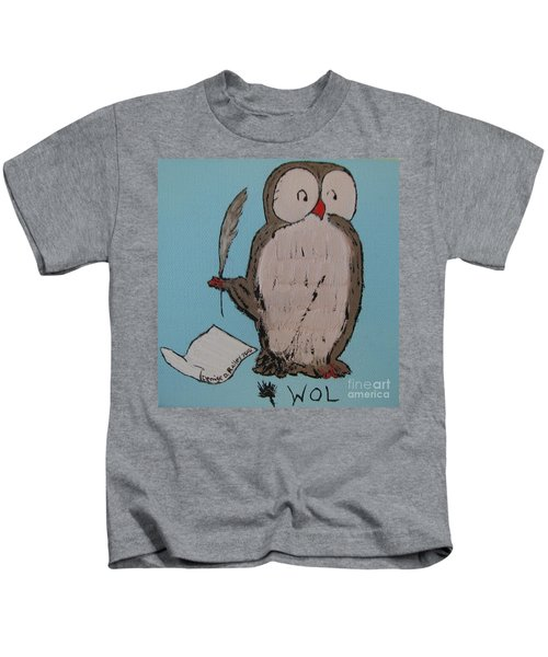 He Can Write And Read Kids T-Shirt