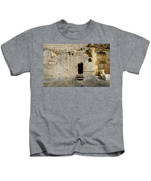 He Is Risen Kids T-Shirt