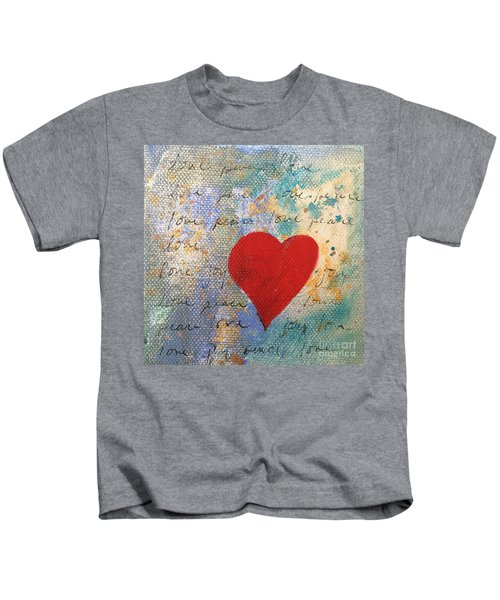 Heart #9 Kids T-Shirt