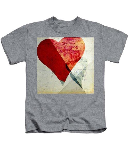 Hearts 6 Square Kids T-Shirt