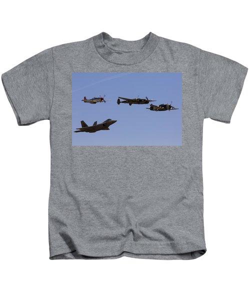 Heritage Flight Of Four Kids T-Shirt