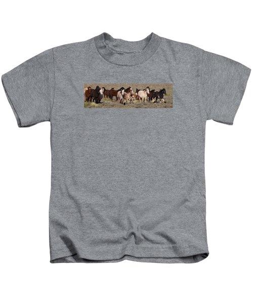 High Desert Horses Kids T-Shirt