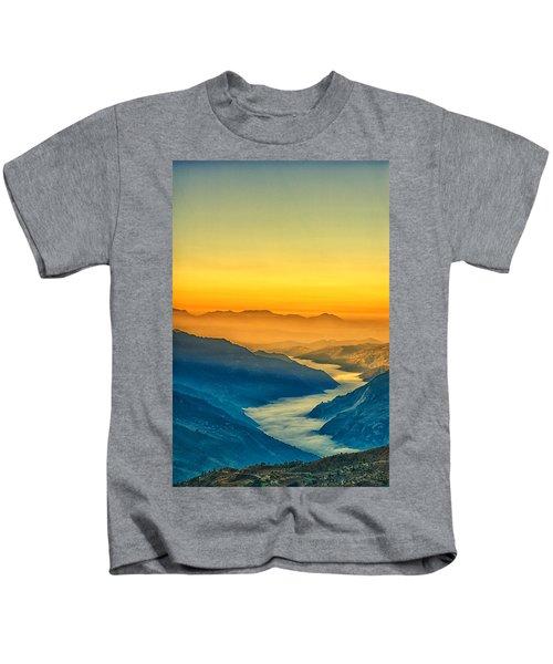 Himalaya In The Morning Light Kids T-Shirt