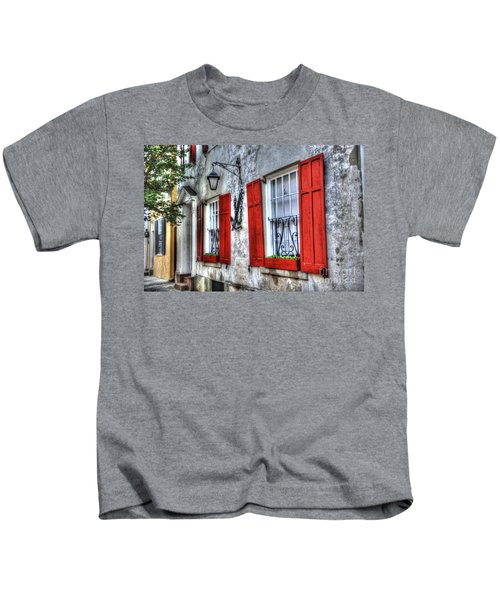 Historic Charleston Pirates House Kids T-Shirt