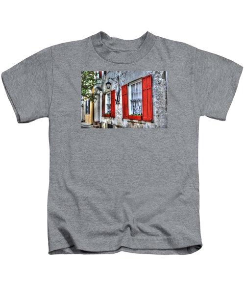 Historic Charleston Pirates House Kids T-Shirt