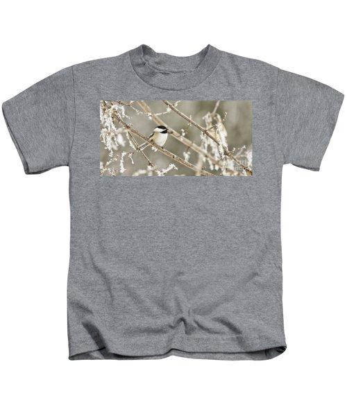 Hoarfrost Morning Kids T-Shirt