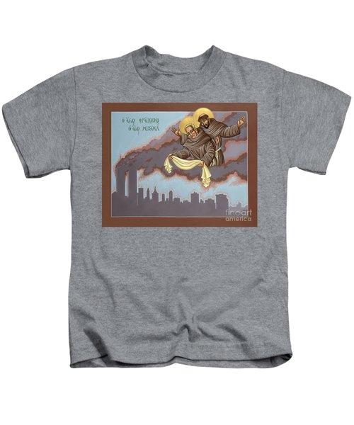 Holy Passion Bearer Mychal Judge 132 Kids T-Shirt