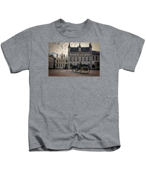 Horse And Carriage Kids T-Shirt