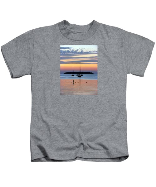 Horsehoe Island Sunset Kids T-Shirt