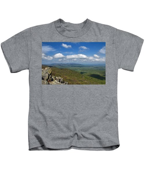 Humpback Rocks View South Kids T-Shirt