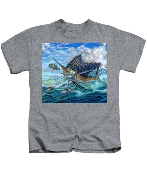 Hunting Sail Kids T-Shirt