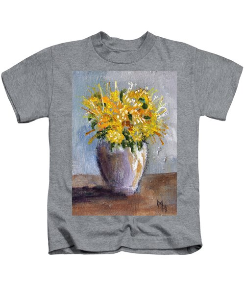 I Think Of Spring Kids T-Shirt