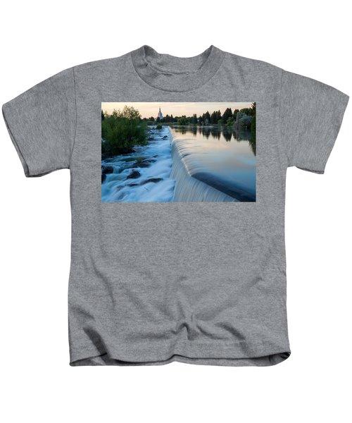 Idaho Falls Sunset Kids T-Shirt