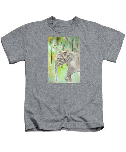 Indian Elephant Kids T-Shirt