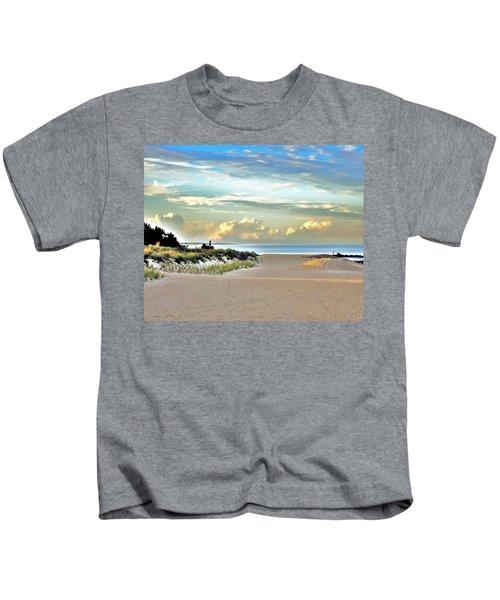 Indian River Inlet - Delaware State Parks Kids T-Shirt