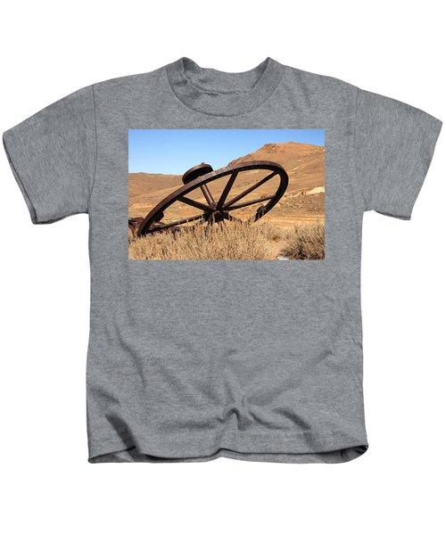 Industrial Wheel Kids T-Shirt