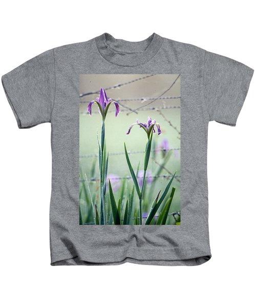 Irises2 Kids T-Shirt