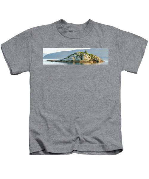 Island In A Lake, Glacier Bay National Kids T-Shirt