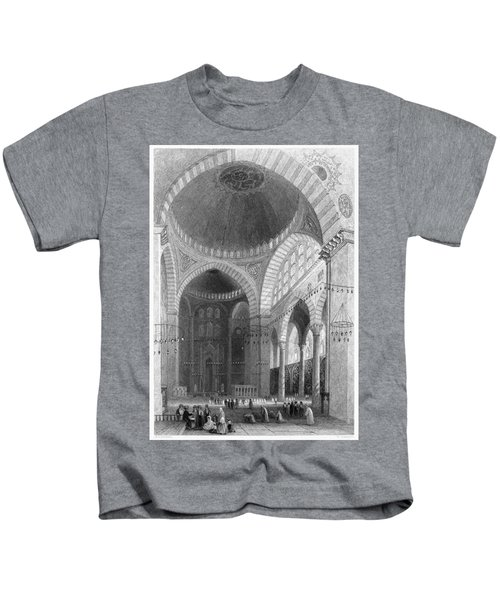 Istanbul Mosque, 1839 Kids T-Shirt