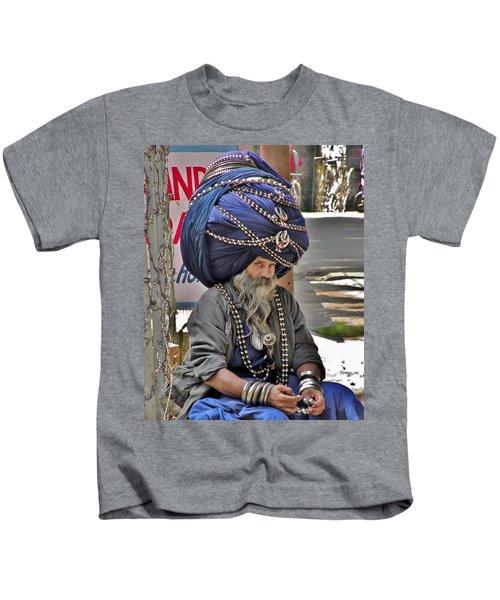 Its All In The Head - Rishikesh India Kids T-Shirt
