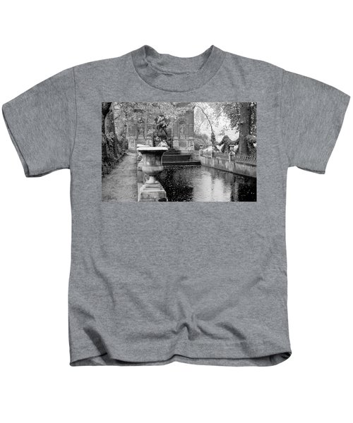 Jardin De Medicis Paris Kids T-Shirt