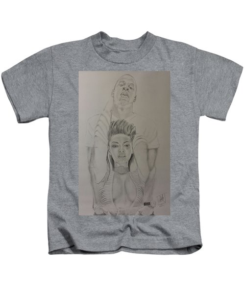 Jaybey Kids T-Shirt by DMo Herr