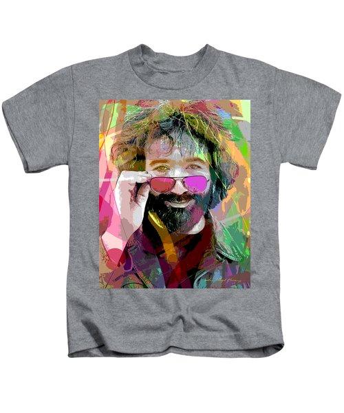 Jerry Garcia Art Kids T-Shirt