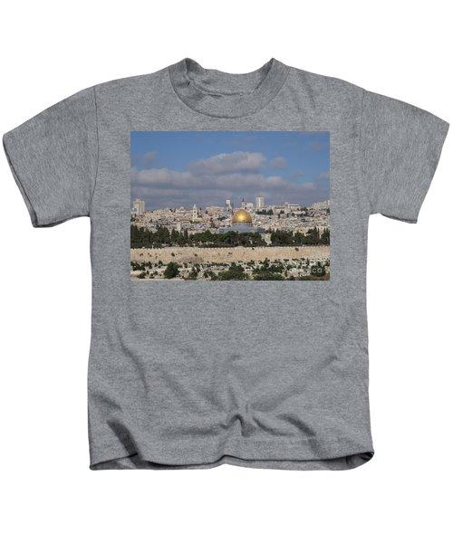 Jerusalem Old City Kids T-Shirt