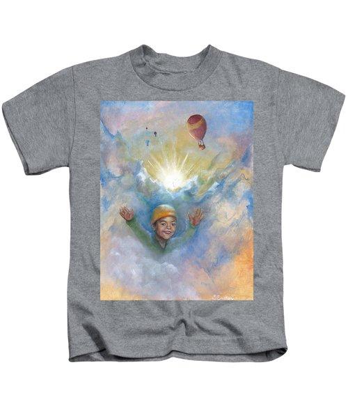 Jhonan And The Hot Air Balloons Kids T-Shirt
