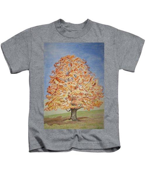 Jolanda's Maple Tree Kids T-Shirt