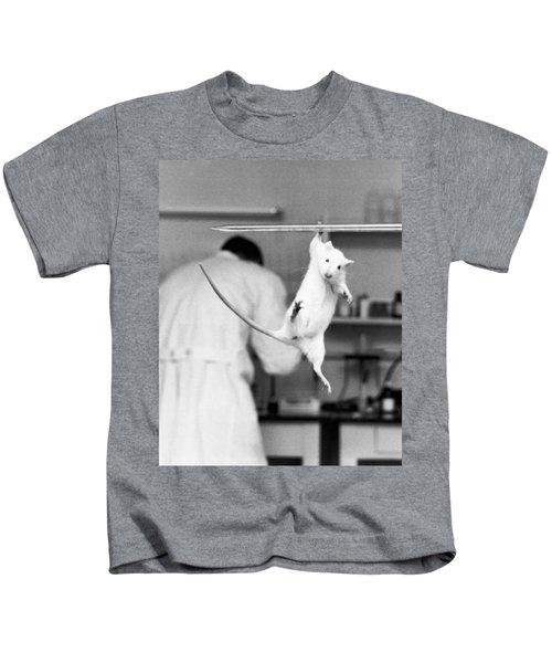 Just Hanging Lab Rat Kids T-Shirt
