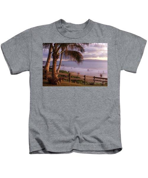 Kai Makani Hoohinuhinu O Kamaole - Kihei Maui Hawaii Kids T-Shirt