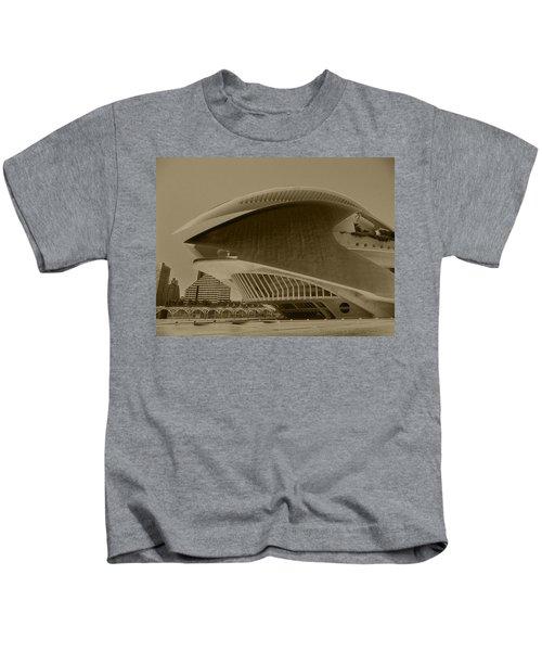 L' Hemisferic - Valencia Kids T-Shirt