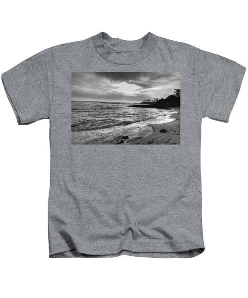 Laguna Beach Sunset Kids T-Shirt