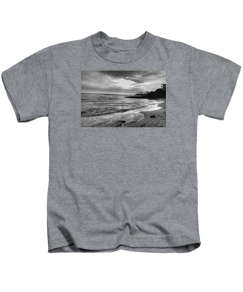 Laguna Beach Sunset Kids T-Shirt