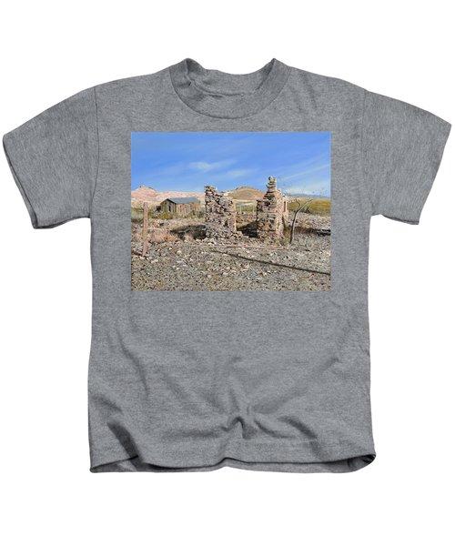 Lake Valley-new Mexico  Kids T-Shirt