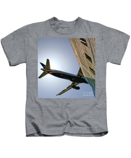 Landing By Diana Sainz Kids T-Shirt