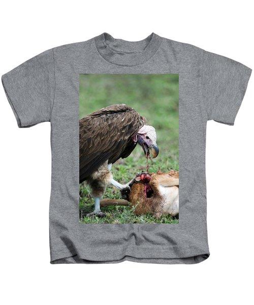 Lappet-faced Vulture Torgos Kids T-Shirt