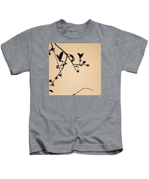 Leaf Birds Kids T-Shirt