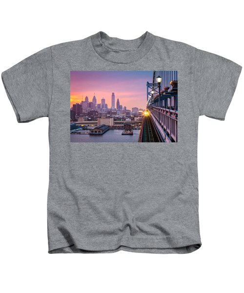 Leaving Philadelphia Kids T-Shirt