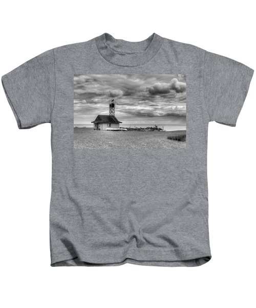 Leuty Lifeguard Station Kids T-Shirt