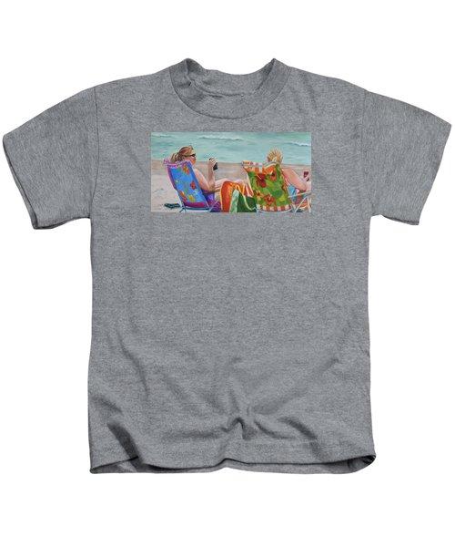 Ladies' Beach Retreat Kids T-Shirt