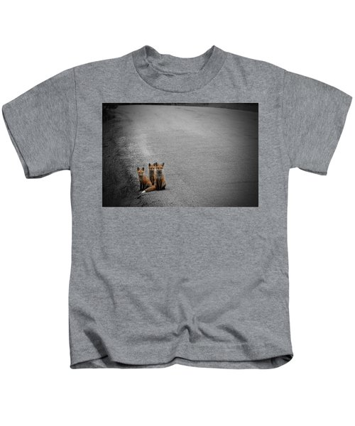 Life Is An Unknown Highway Kids T-Shirt