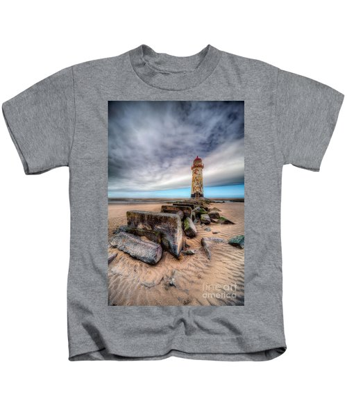 Lighthouse At Talacre  Kids T-Shirt