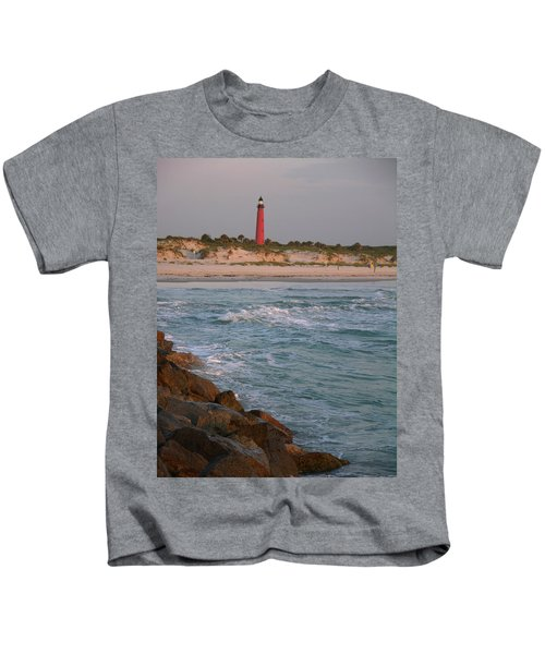 Lighthouse From The Jetty 2 Kids T-Shirt