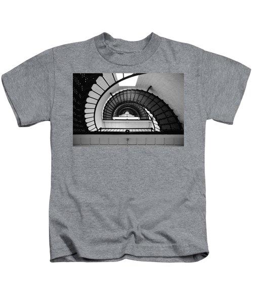 Lighthouse Spiral Kids T-Shirt