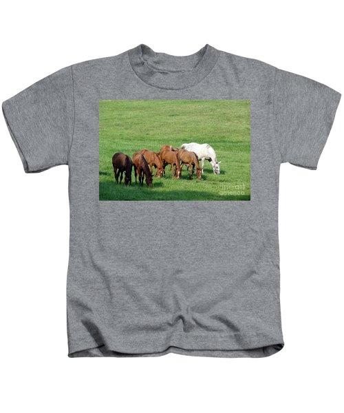 Line Feeding Kids T-Shirt
