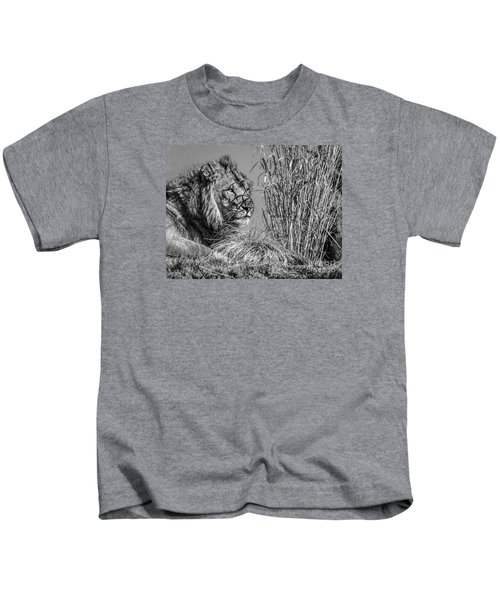 Watching Intently Kids T-Shirt